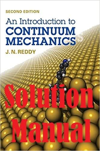 حل المسائل کتاب مکانیک سیستم های پیوسته ردی  REDDY