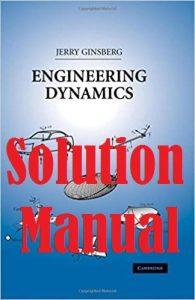 حل المسائل کتاب دینامیک مهندسی جری گینزبرگ JERRY GINSBERG