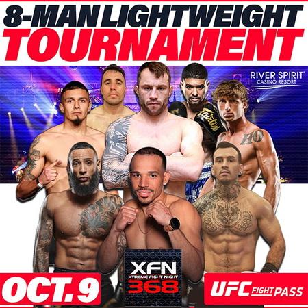 دانلود رویداد کیک بوکسینگ :  Xtreme Fight Night: 8-Man Lightweight Kickboxing