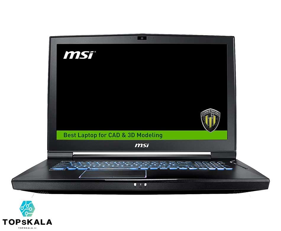 خرید لپ تاپ استوک ام اس آی مدل MSI Wt73VR 7RM WorkStation با مشخصات Xeon E3 1505 V6 - NVIDIA Quadro P5000 دارای مهلت تست و گارانتی رایگان/ محصول اچ پی سال 2019