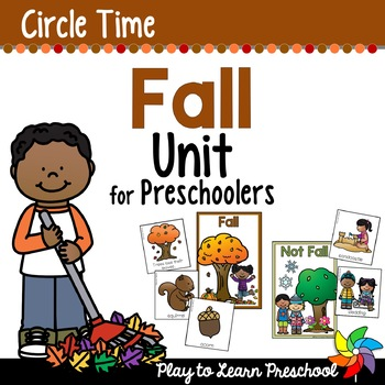 Fall Circle Time Unit - Original PDF
