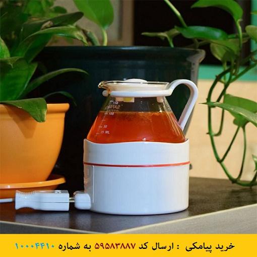عکس محصول دم کن برقی زعفران