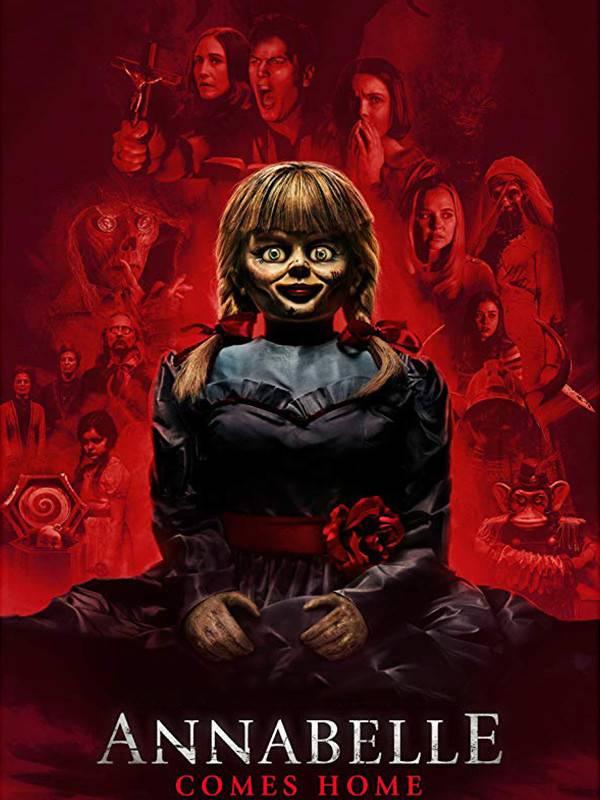 دانلود دوبله فارسی فیلم آنابل به خانه می آید Annabelle Comes Home 2019 BluRay