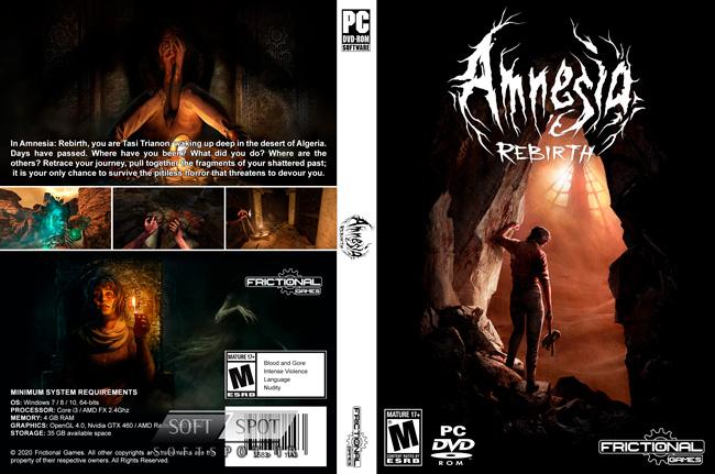 Amnesia Rebirth Cover
