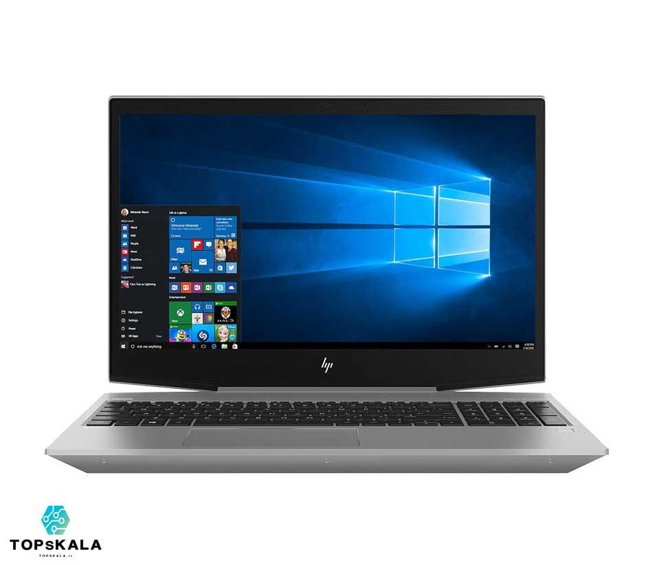 لپ تاپ استوک اچ پی مدل HP Zbook 15V G5 با مشخصات intel Core i7 8750H - Nvidia Quadro P600 دارای مهلت تست و گارانتی رایگان/ محصول HP