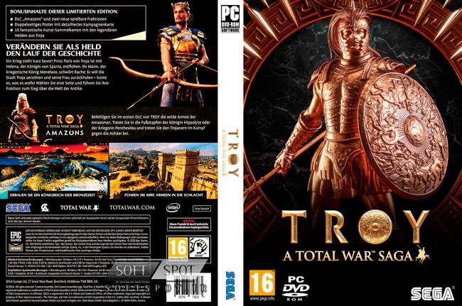 A Total War Saga: TROY Cover