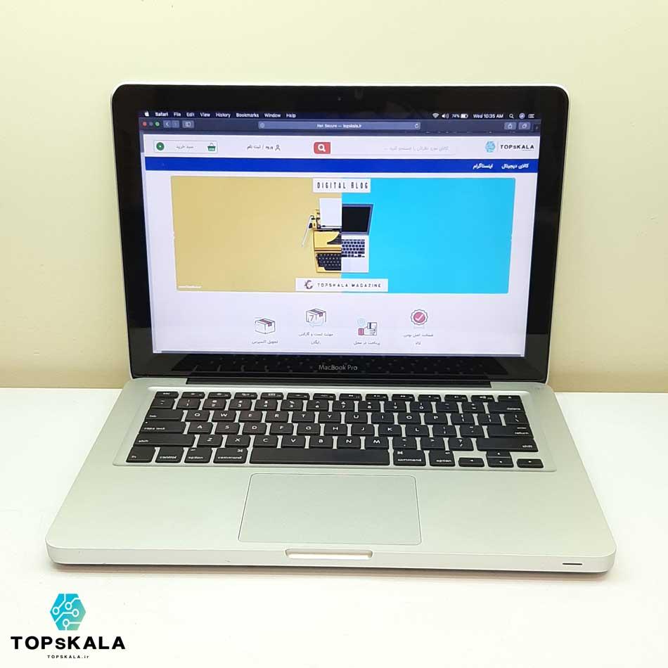 خرید لپ تاپ استوک اپل مدل APPLE MacBook Pro 2012 با مشخصات intel Core i5 2012 - intel HD 4000 دارای مهلت تست و گارانتی رایگان / محصول Apple