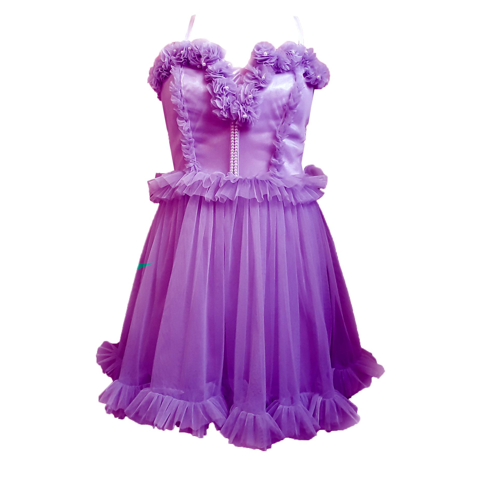 لباس توری بلند