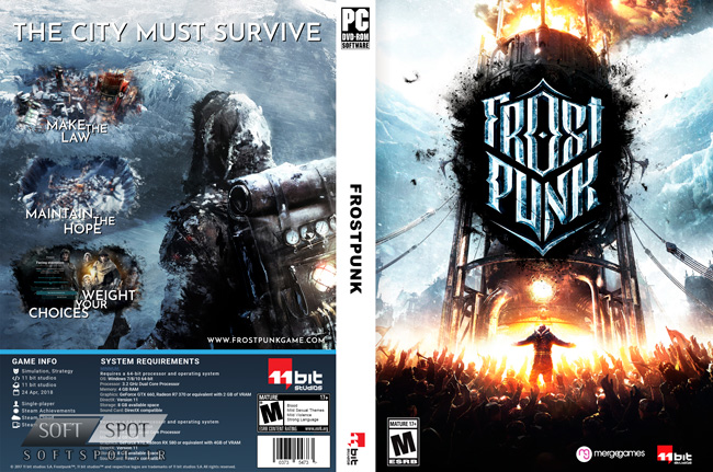 Frostpunk cover