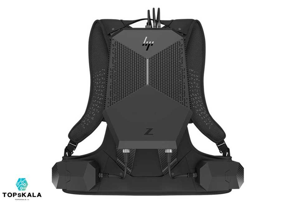 کامپیوتر آکبند اچ پی مدل HP Z VR Backpack G1 Workstation با مشخصات پردازنده Intel Core i7 7820HQ و گرافیک nVidia Quadro P5200 دارای مهلت تست و گارانتی رایگان - محصول HP