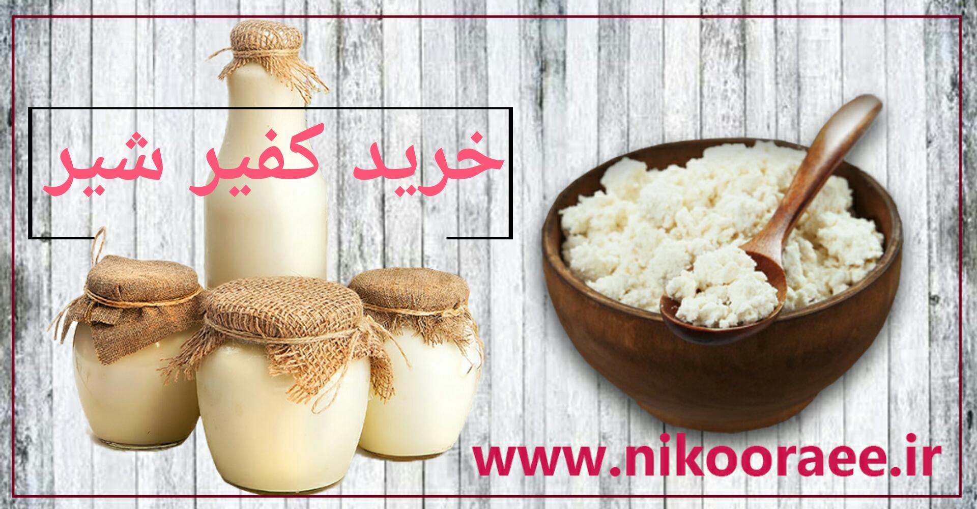 خرید کفیر شیر و محصولات کفیر