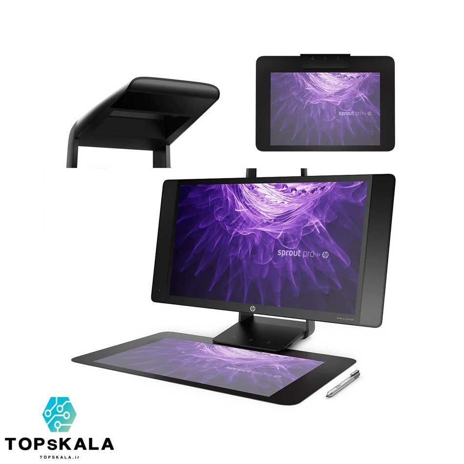 All in one اچ پی مدل HP Sprout Pro G2 با مشخصات پردازنده Intel Core i7 7700T و گرافیک nVIDIA GTX 960 دارای مهلت تست و گارانتی رایگان - محصول HP