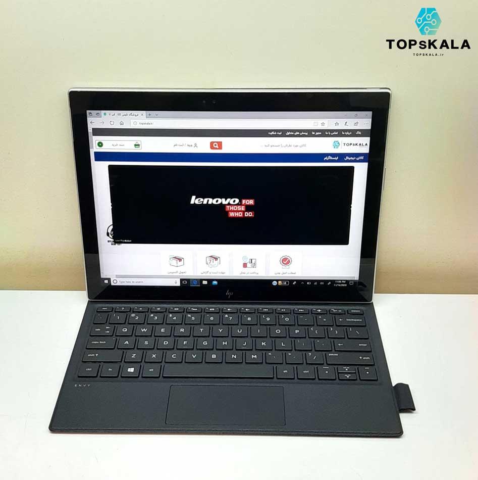 لپ تاپ استوک اچ پی مدل HP ENVY X2 DETACHABLE 12 با مشخصات intel Core i5 7Y54 - intel HD 615 دارای مهلت تست و گارانتی رایگان / محصول HP