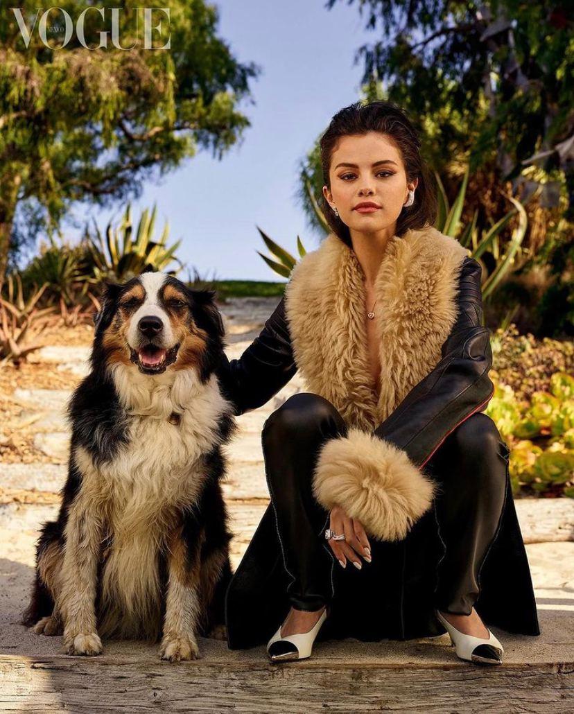 شات های جدید سلنا برای مجله Vogue mexico