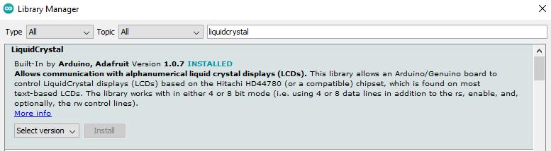 liquidCrystal