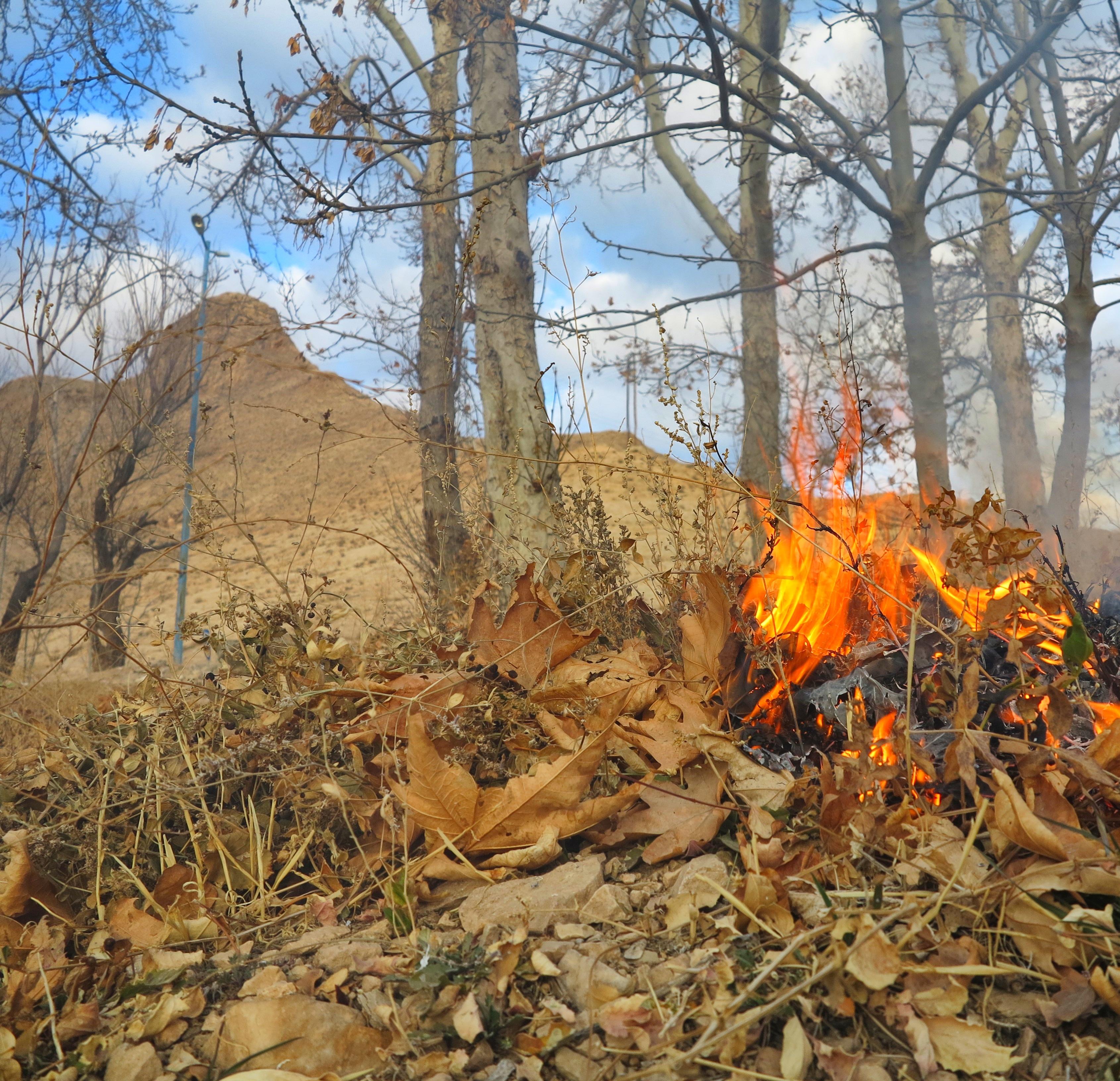 אש בהרים