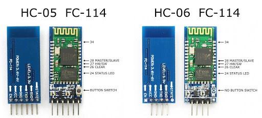 hc05 & hc06