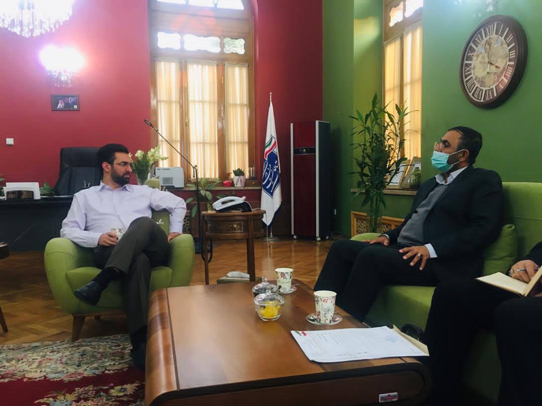 دیدار منصور شکرالهی با وزیر ارتباطات و فنآوری اطلاعات
