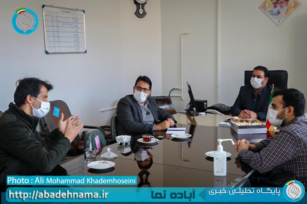 گفت و گوی خبری با رئیس اداره صمت شهرستان آباده | پایگاه خبری آباده نما