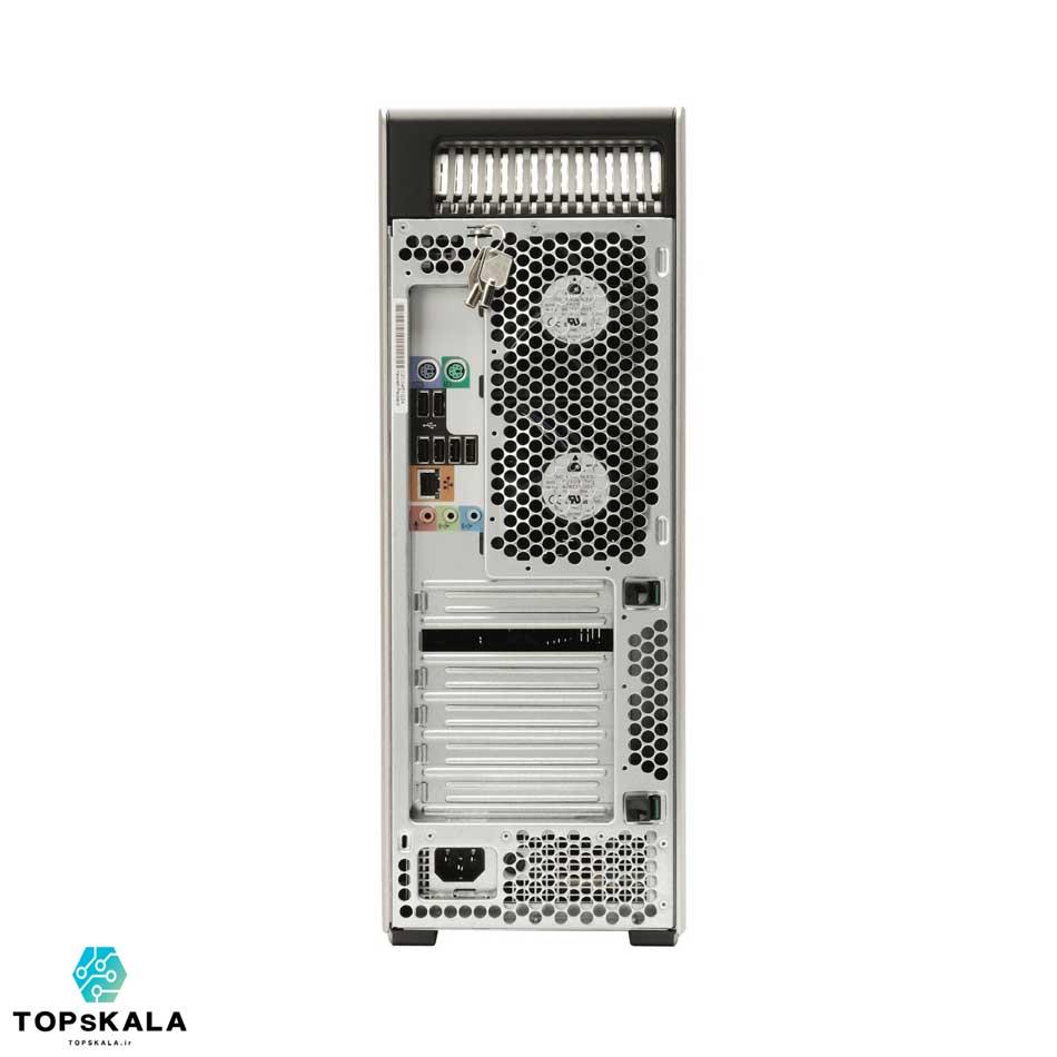 کامپیوتر استوک اچ پی مدل HP Z440 WorkStation با مشخصات پردازنده Intel Xeon X5650x2 و گرافیک nVidia Quadro K4000 دارای مهلت تست و گارانتی رایگان - محصول HP