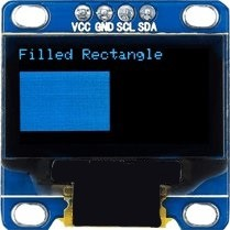 oled fill rect