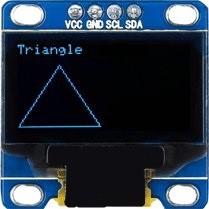 triangle oled