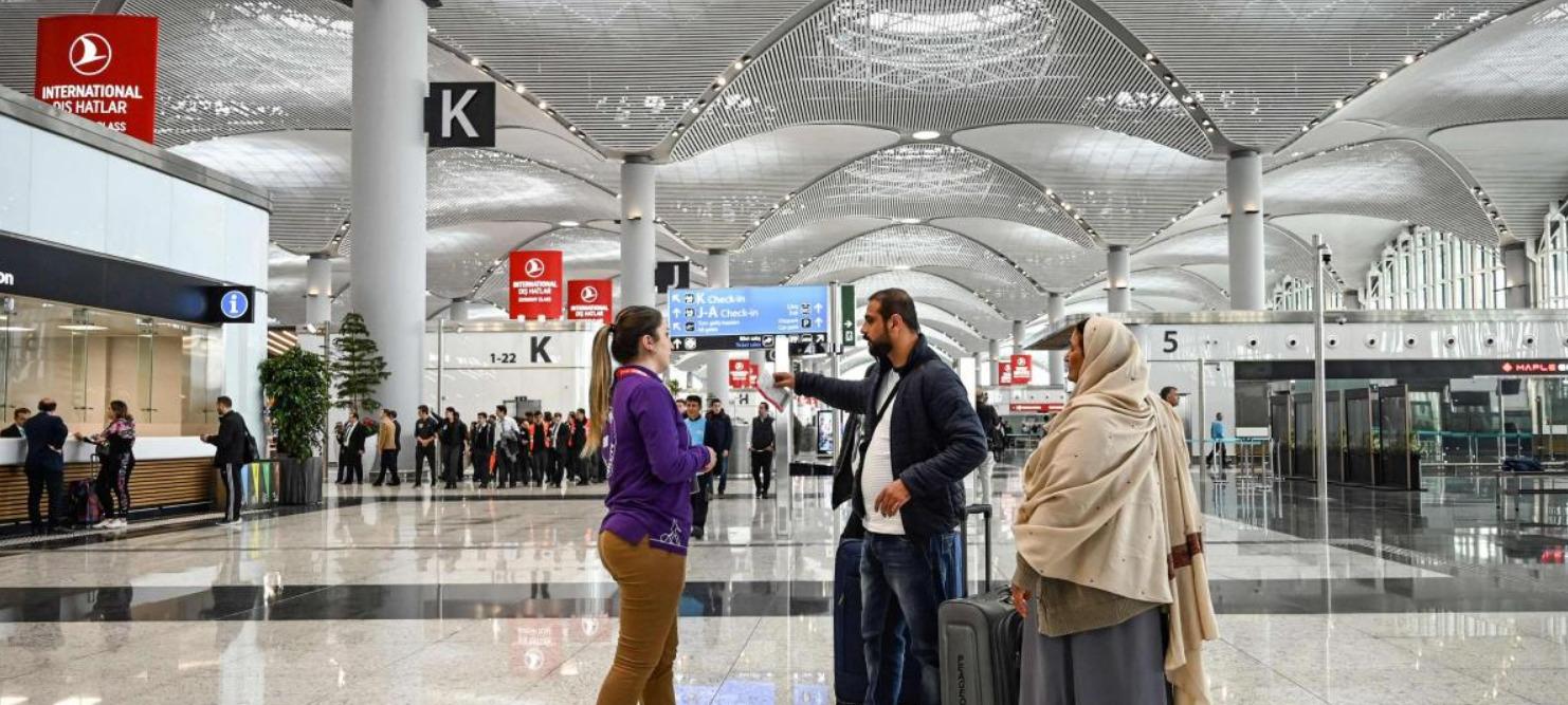 بلیط هواپیما تهران به استانبول