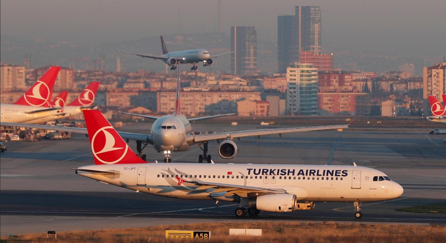 بلیط هواپیما تهران استانبول ترکیش