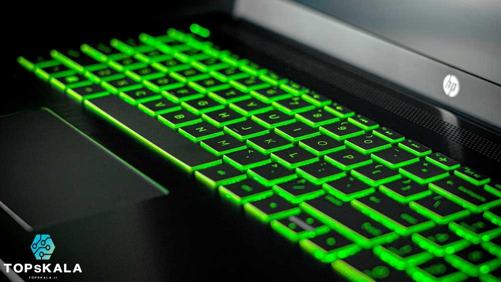 لپ تاپ استوک اچ پی مدل HP Pavilion Notebook 15-bc401TX ALL با مشخصات nVidia GTX 1050 Ti - Intel Core i5 8300H دارای مهلت تست و گارانتی رایگان / محصول HP