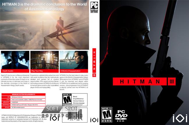 Hitman 3 Cover