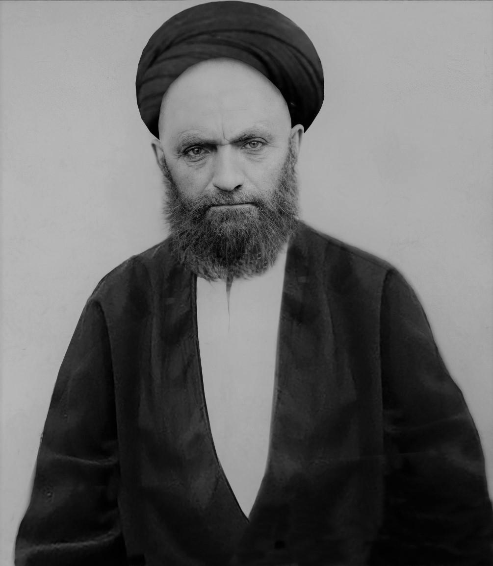 دومین عکس بازسازی شده آقا سید علی قاضی طباطبایی رحمت الله علیه