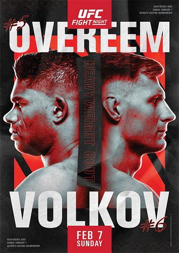 دانلود رویداد یو اف سی | UFC Fight Night 184: Overeem vs. Volkov