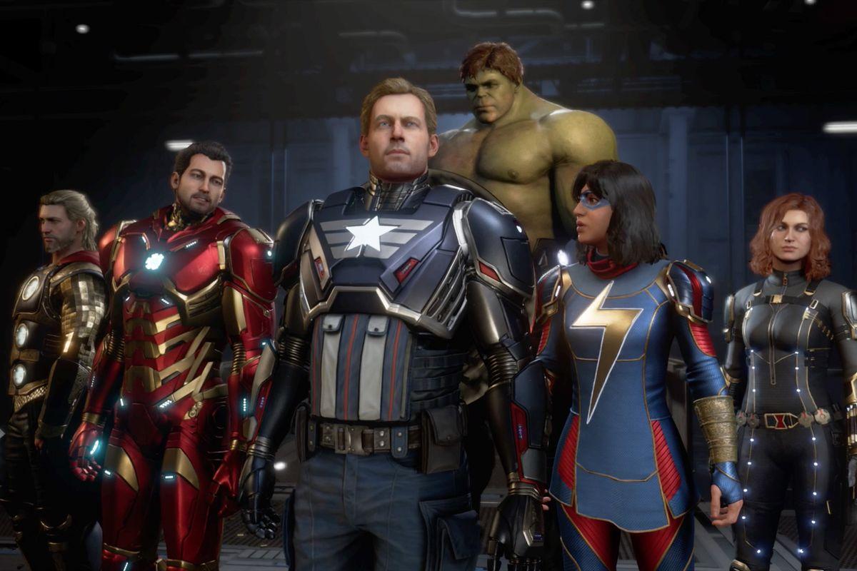 دانلود کرک CPY بازی Marvels Avengers برای کامپیوتر