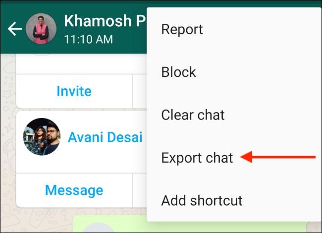 انتقال چت از واتساپ به تلگرام 4