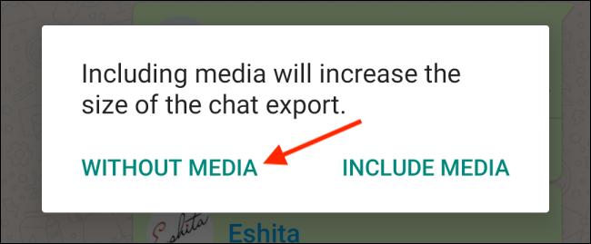انتقال چت از واتساپ به تلگرام 5