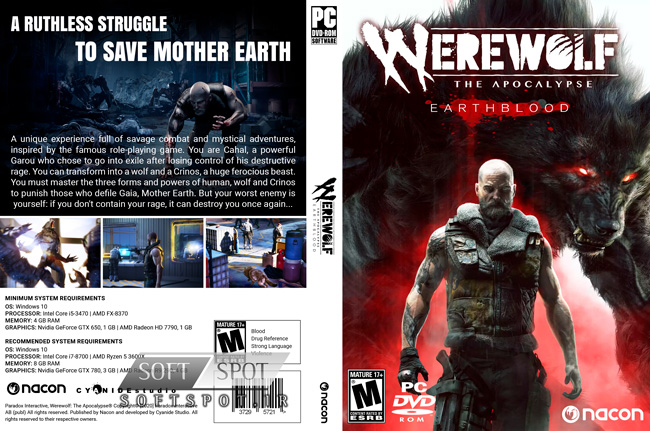 Werewolf The Apocalypse Earthblood Cover