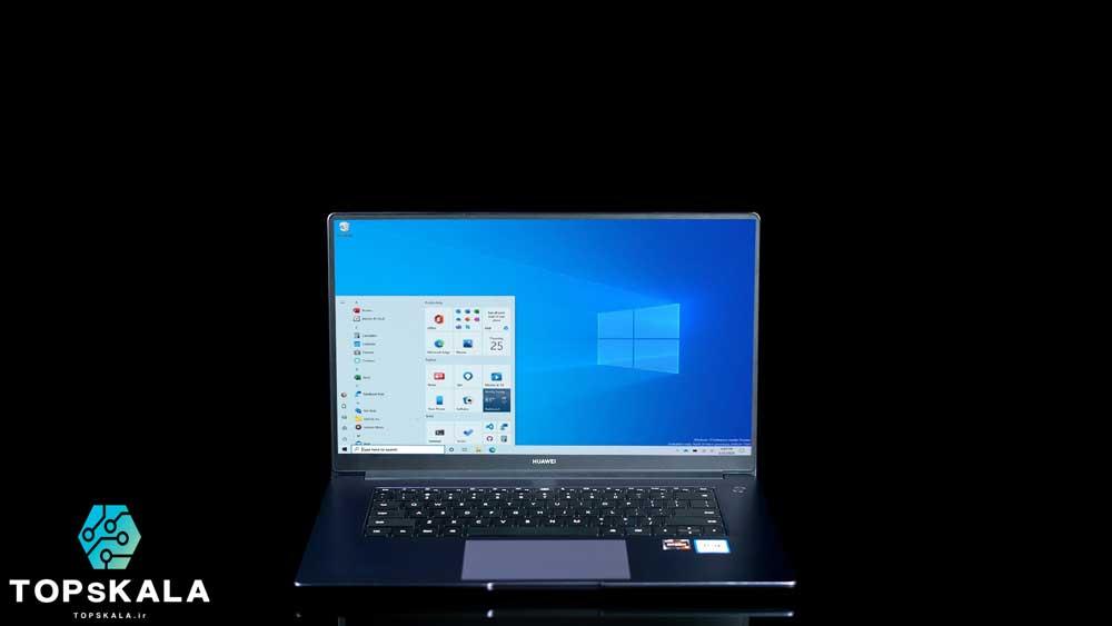 لپ تاپ استوک هواوی مدل Huawei MateBook D15 با مشخصات Amd Ryzen 5 3500 - AMD Radeon Vega 8 دارای مهلت تست و گارانتی رایگان / محصول Huawei