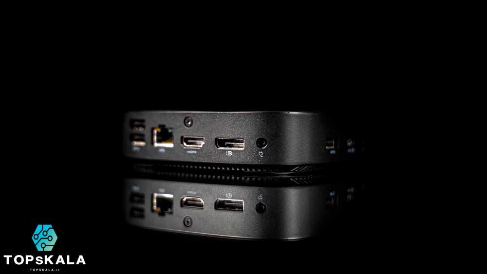 تین کلاینت آکبند اچ پی مدل HP T430 Thin Client با مشخصات پردازنده Intel Celeron N4000 و گرافیک intel 600 دارای مهلت تست و گارانتی رایگان - محصول HP
