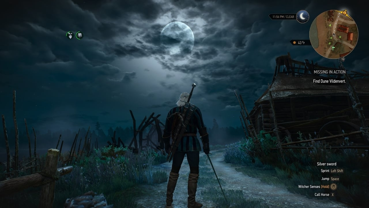 اسکرین شاتهای بازی Witcher 3 Wild Hunt Game Of The Year GOTY Geralt Velen Night