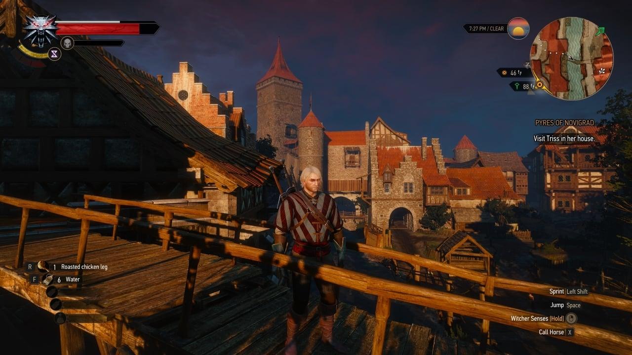 اسکرین شاتهای بازی Witcher 3 Wild Hunt Game Of The Year GOTY Geralt Novigrad Bridge
