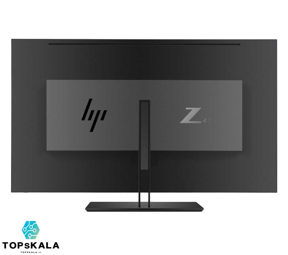 مانیتور اچ پی مدل Z43 سایز 43 اینچ محصول شرکت HP با سایز 43 اینچ و کیفیت تصویر 4K دارای مهلت تست و گارانتی رایگان