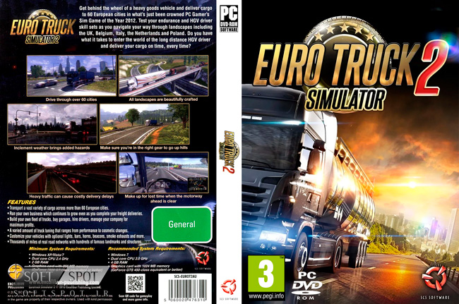 Euro Truck Simulator 2 Cover