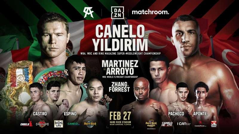 دانلود مبارزه ی بوکس قهرمانی:  Canelo Alvarez vs. Avni Yildirim-پُست دوم