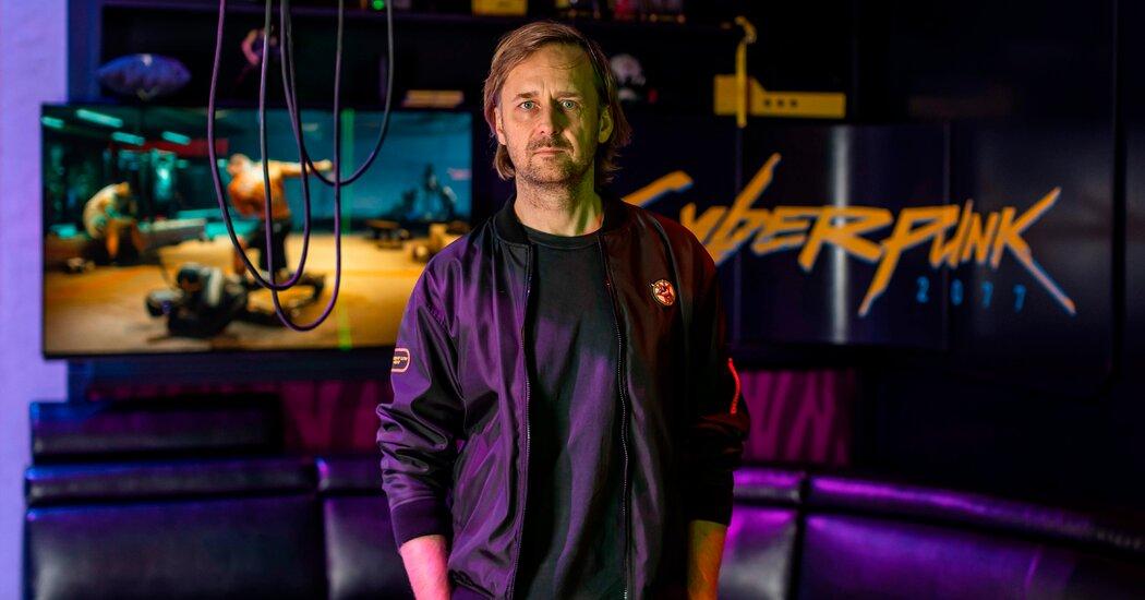 Marcin Iwinski Cd Projekt Red Ceo cyberpunk 2077