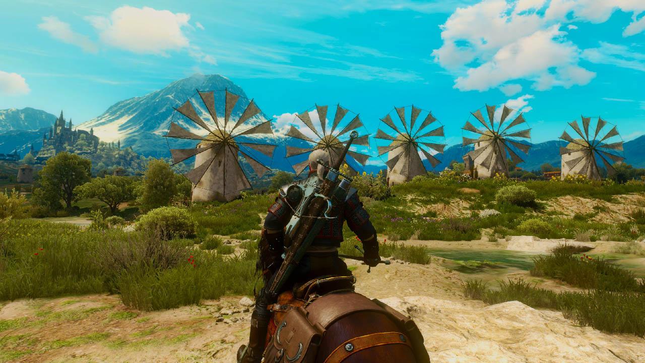 Don Geralt De La Rivia Witcher 3 Don Quixote