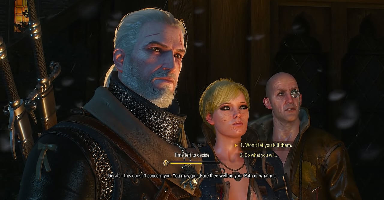 witcher 3 choices geralt roche and ves and thaler or dijkstra