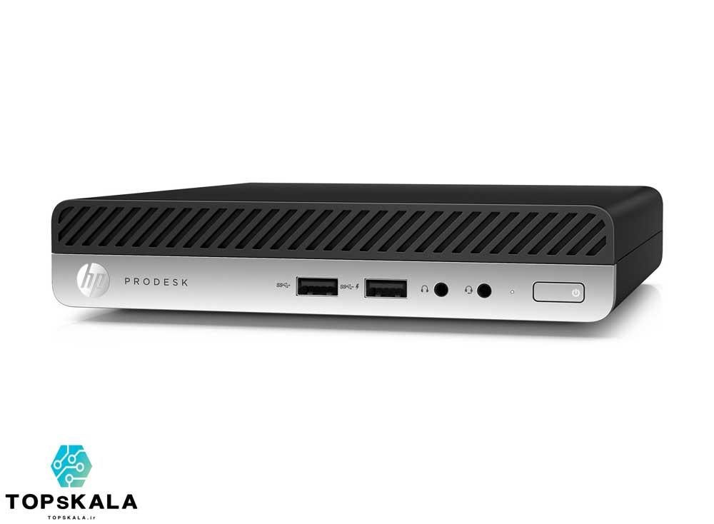 کامپیوتر آکبند اچ پی مدل HP Prodesk 400 G5 mini با مشخصات پردازنده Intel Core i5 9500T و گرافیک intel UHD 630 دارای مهلت تست و گارانتی رایگان - محصول HP