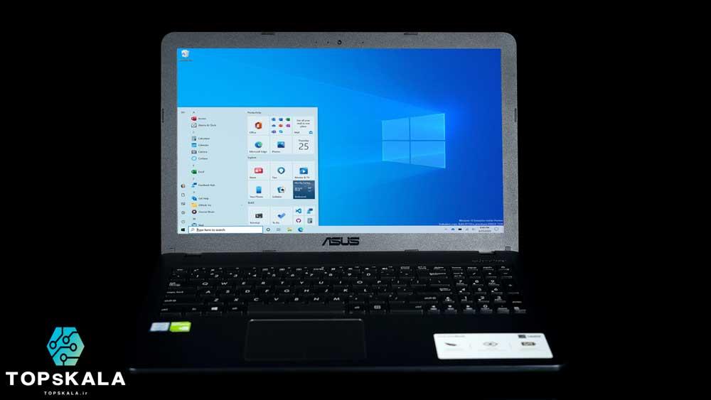 لپ تاپ استوک ایسوس مدل ASUS VivoBook C540UBR با مشخصات Nvidia Geforce MX 110 - Intel Core i5 8250U دارای مهلت تست و گارانتی رایگان / محصول ASUS