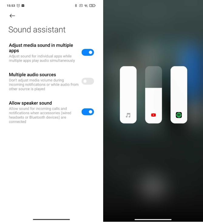 ویژگی های MIUI 12 / دستیار صوتی