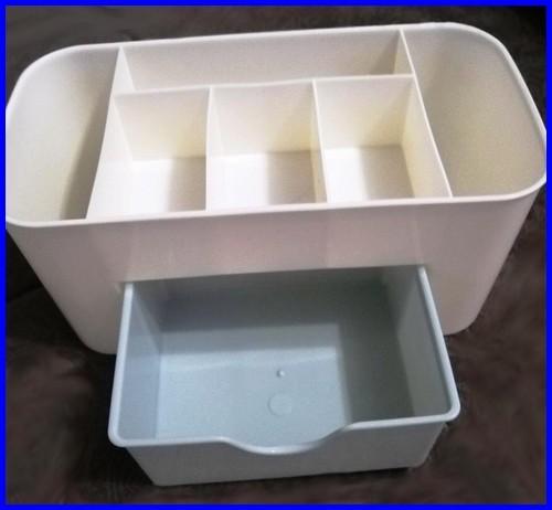 جای باکس لوازم ارایش پلاستیکی ارزان حمام